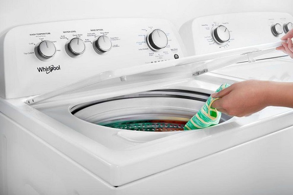 Whirlpool washer making loud noise when spinning