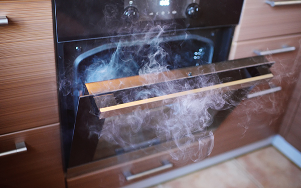 is it safe to use self-cleaning oven