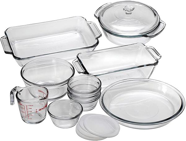 best glass bakeware sets